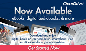 OverDrive Ebooks and Downloadable Audiobooks Logo